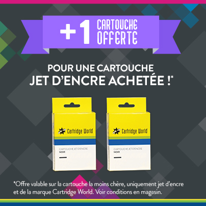Cartouche offerte - Cartridge World Perpignan